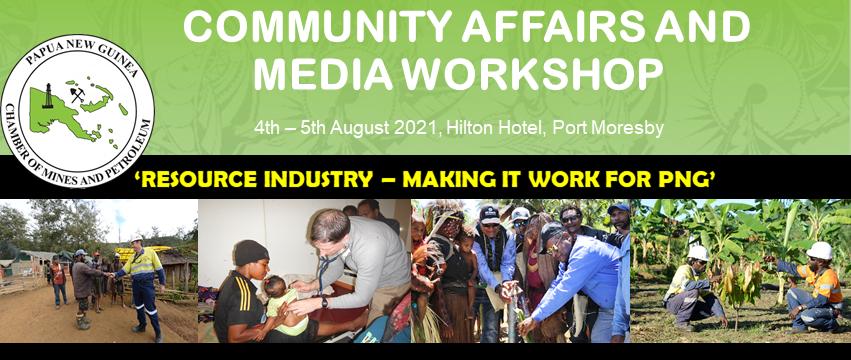 COMMUNITY AFFAIRS AND MEDIA WORKSHOP