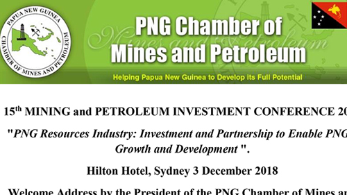 Investment and Partnership to Enable PNG's Growth and Development