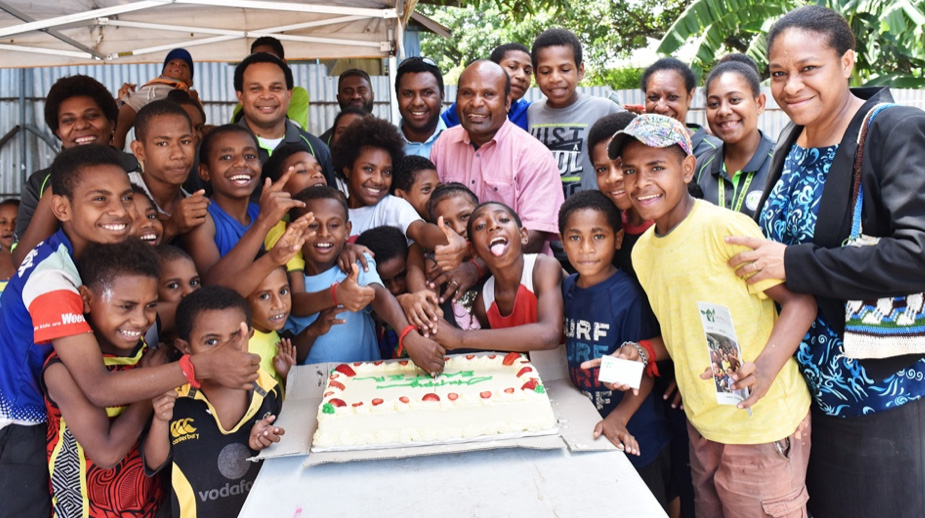 Chamber staff spread Easter joy to children at Life PNG Care
